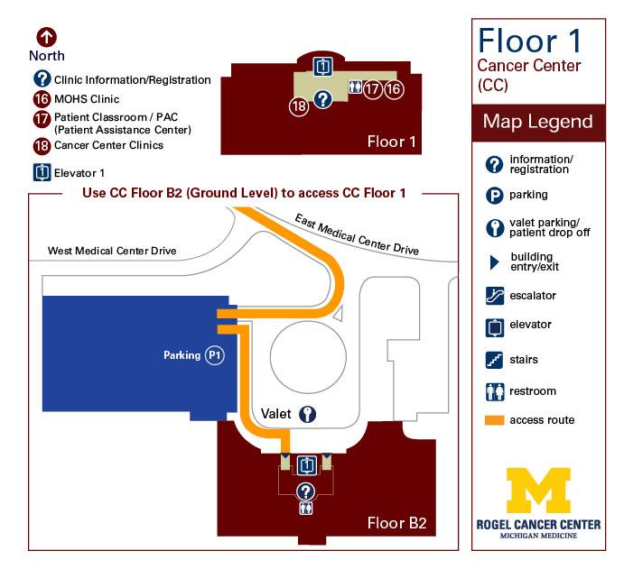 Cancer Center - Floor 1