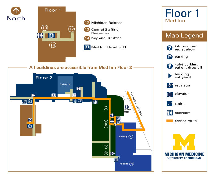 Med Inn - Floor 1 | Frankel Cardiovascular Center | Michigan Medicine
