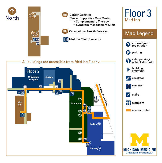 Med Inn - Floor 3 | Michigan Medicine