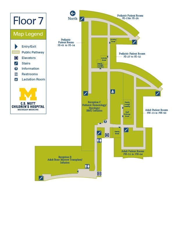 C S  Mott Children's Hospital - Floor 7 | Michigan Medicine