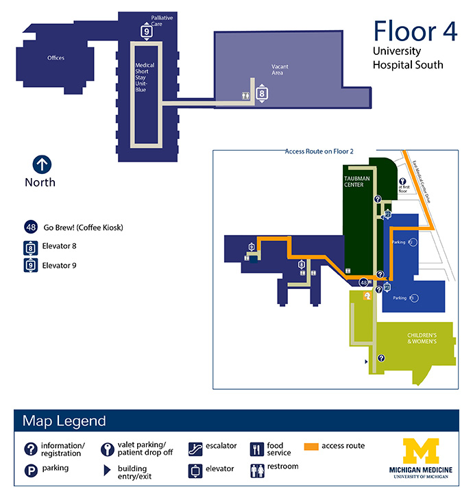 Mott Children's Hospital / Women's Hospital - Floor 6
