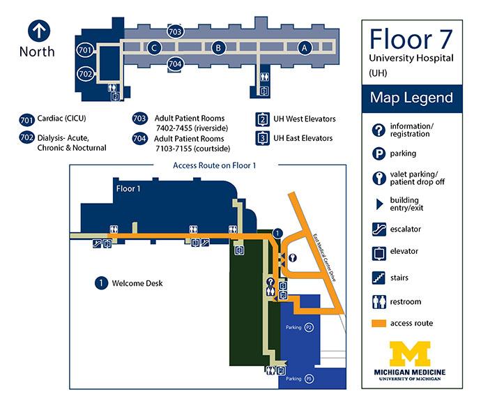 University Hospital - Floor 7