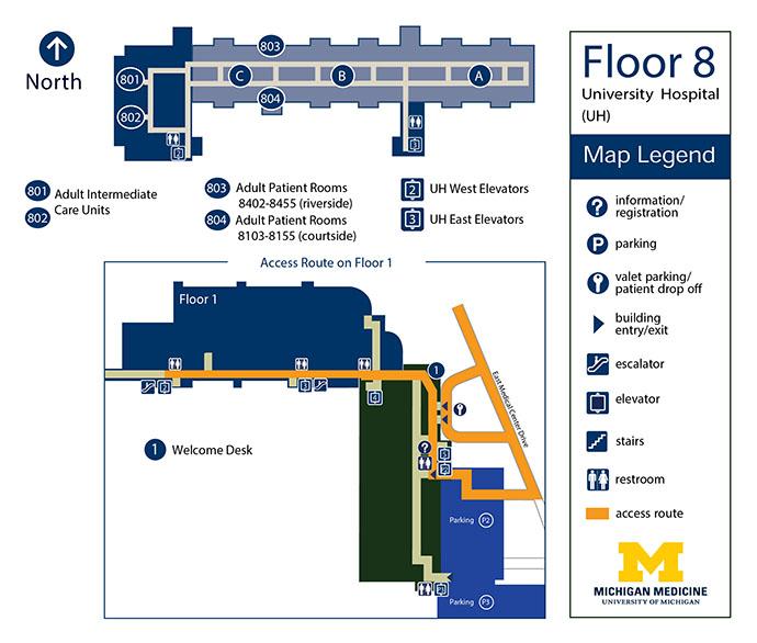 University Hospital - Floor 8