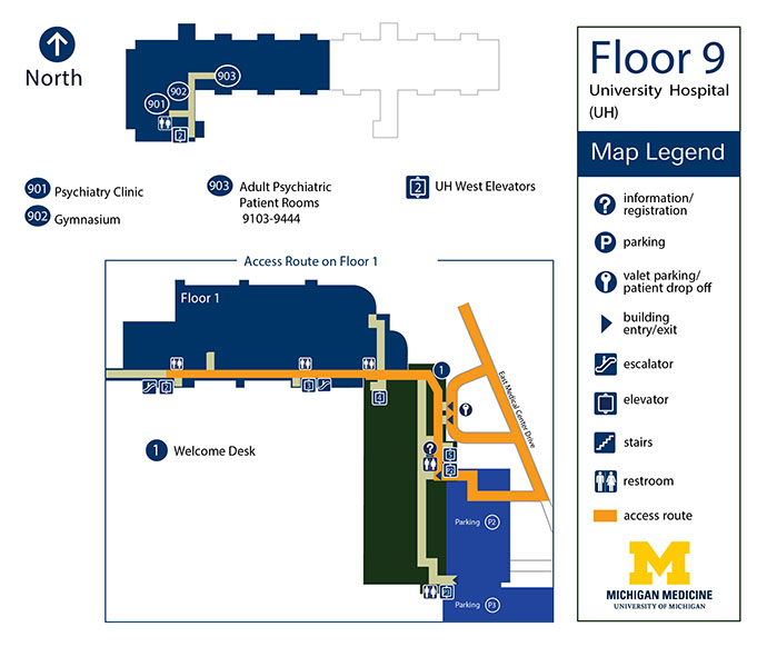 University Hospital - Floor 9