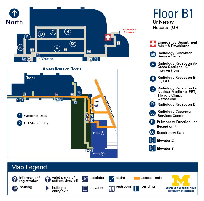 University Hospital - B1
